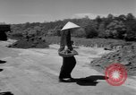 Image of highway construction Vietnam, 1957, second 25 stock footage video 65675043578