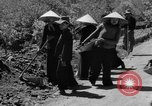Image of highway construction Vietnam, 1957, second 49 stock footage video 65675043578