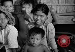 Image of Cambodian children Cambodia, 1957, second 15 stock footage video 65675043580