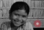 Image of Cambodian children Cambodia, 1957, second 21 stock footage video 65675043580