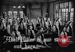 Image of fascist children in uniform Germany, 1942, second 8 stock footage video 65675043614