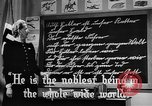 Image of fascist children in uniform Germany, 1942, second 13 stock footage video 65675043614
