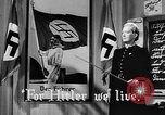 Image of fascist children in uniform Germany, 1942, second 19 stock footage video 65675043614