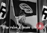Image of fascist children in uniform Germany, 1942, second 29 stock footage video 65675043614