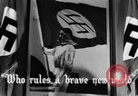 Image of fascist children in uniform Germany, 1942, second 30 stock footage video 65675043614