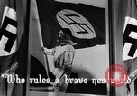 Image of fascist children in uniform Germany, 1942, second 32 stock footage video 65675043614