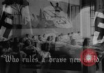 Image of fascist children in uniform Germany, 1942, second 34 stock footage video 65675043614