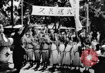 Image of fascist children in uniform Germany, 1942, second 46 stock footage video 65675043614
