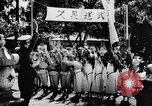 Image of fascist children in uniform Germany, 1942, second 48 stock footage video 65675043614