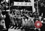 Image of fascist children in uniform Germany, 1942, second 49 stock footage video 65675043614