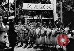 Image of fascist children in uniform Germany, 1942, second 50 stock footage video 65675043614