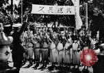 Image of fascist children in uniform Germany, 1942, second 51 stock footage video 65675043614