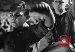 Image of fascist children in uniform Germany, 1942, second 56 stock footage video 65675043614