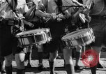 Image of fascist children in uniform Germany, 1942, second 61 stock footage video 65675043614