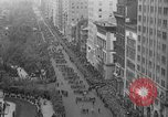 Image of the Great Beer Parade demonstration against prohibition New York City USA, 1932, second 15 stock footage video 65675046021