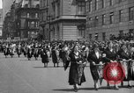 Image of the Great Beer Parade demonstration against prohibition New York City USA, 1932, second 30 stock footage video 65675046021