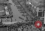 Image of the Great Beer Parade demonstration against prohibition New York City USA, 1932, second 34 stock footage video 65675046021