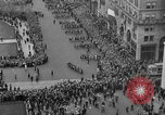 Image of the Great Beer Parade demonstration against prohibition New York City USA, 1932, second 35 stock footage video 65675046021