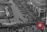 Image of the Great Beer Parade demonstration against prohibition New York City USA, 1932, second 36 stock footage video 65675046021
