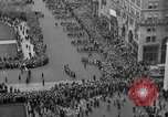 Image of the Great Beer Parade demonstration against prohibition New York City USA, 1932, second 37 stock footage video 65675046021