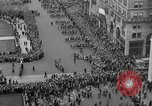 Image of the Great Beer Parade demonstration against prohibition New York City USA, 1932, second 38 stock footage video 65675046021