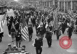 Image of the Great Beer Parade demonstration against prohibition New York City USA, 1932, second 48 stock footage video 65675046021