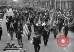 Image of the Great Beer Parade demonstration against prohibition New York City USA, 1932, second 49 stock footage video 65675046021