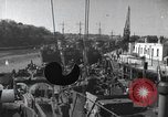 Image of US Large Landing Craft Infantry docked in Weymouth, England  Weymouth England United Kingdom, 1944, second 1 stock footage video 65675046305