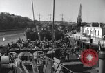 Image of US Large Landing Craft Infantry docked in Weymouth, England  Weymouth England United Kingdom, 1944, second 14 stock footage video 65675046305