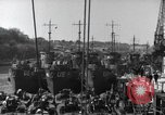 Image of US Large Landing Craft Infantry docked in Weymouth, England  Weymouth England United Kingdom, 1944, second 24 stock footage video 65675046305