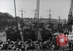 Image of US Large Landing Craft Infantry docked in Weymouth, England  Weymouth England United Kingdom, 1944, second 25 stock footage video 65675046305