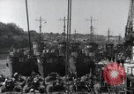 Image of US Large Landing Craft Infantry docked in Weymouth, England  Weymouth England United Kingdom, 1944, second 26 stock footage video 65675046305
