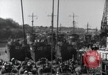 Image of US Large Landing Craft Infantry docked in Weymouth, England  Weymouth England United Kingdom, 1944, second 29 stock footage video 65675046305