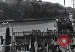 Image of US Large Landing Craft Infantry docked in Weymouth, England  Weymouth England United Kingdom, 1944, second 34 stock footage video 65675046305
