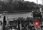 Image of US Large Landing Craft Infantry docked in Weymouth, England  Weymouth England United Kingdom, 1944, second 35 stock footage video 65675046305