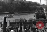 Image of US Large Landing Craft Infantry docked in Weymouth, England  Weymouth England United Kingdom, 1944, second 42 stock footage video 65675046305