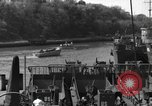 Image of US Large Landing Craft Infantry docked in Weymouth, England  Weymouth England United Kingdom, 1944, second 46 stock footage video 65675046305