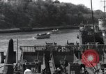 Image of US Large Landing Craft Infantry docked in Weymouth, England  Weymouth England United Kingdom, 1944, second 49 stock footage video 65675046305