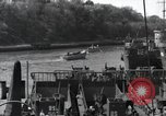 Image of US Large Landing Craft Infantry docked in Weymouth, England  Weymouth England United Kingdom, 1944, second 51 stock footage video 65675046305