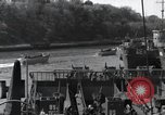 Image of US Large Landing Craft Infantry docked in Weymouth, England  Weymouth England United Kingdom, 1944, second 61 stock footage video 65675046305