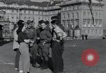 Image of Russian soldiers Prague Czechoslovakia, 1945, second 21 stock footage video 65675046380