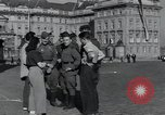 Image of Russian soldiers Prague Czechoslovakia, 1945, second 22 stock footage video 65675046380