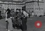 Image of Russian soldiers Prague Czechoslovakia, 1945, second 24 stock footage video 65675046380