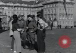 Image of Russian soldiers Prague Czechoslovakia, 1945, second 25 stock footage video 65675046380