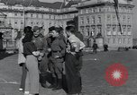 Image of Russian soldiers Prague Czechoslovakia, 1945, second 26 stock footage video 65675046380