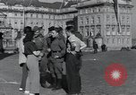 Image of Russian soldiers Prague Czechoslovakia, 1945, second 27 stock footage video 65675046380