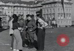 Image of Russian soldiers Prague Czechoslovakia, 1945, second 28 stock footage video 65675046380