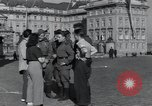 Image of Russian soldiers Prague Czechoslovakia, 1945, second 29 stock footage video 65675046380