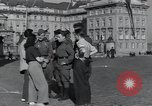 Image of Russian soldiers Prague Czechoslovakia, 1945, second 30 stock footage video 65675046380