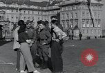 Image of Russian soldiers Prague Czechoslovakia, 1945, second 32 stock footage video 65675046380